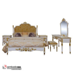 Furniture Kamar Set Ukir Mewah Monica Elisabet SM-138